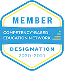 Competency Based Education Network Member 2020-21 Badge