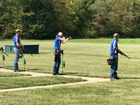 Photo of Sports Shooting team at first meet.